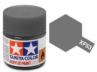 Tinta Acrílica Mini XF-53 Cinza Neutro (10 ml) - Tamiya 81753  - BLIMPS COMÉRCIO ELETRÔNICO