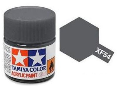 Tinta Acrílica Mini XF-54 Cinza Mar (10 ml) - Tamiya 81754  - BLIMPS COMÉRCIO ELETRÔNICO