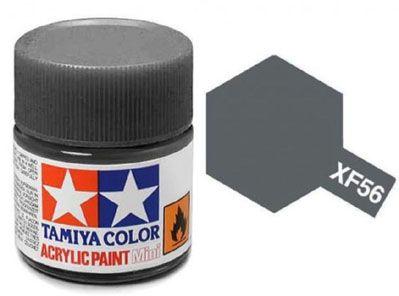 Tinta Acrílica Mini XF-56 Cinza Metálico (10 ml) - Tamiya 81756  - BLIMPS COMÉRCIO ELETRÔNICO