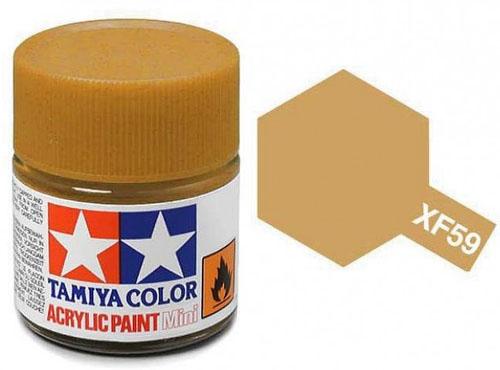 Tinta Acrílica Mini XF-59 Areia (10 ml) - Tamiya 81759  - BLIMPS COMÉRCIO ELETRÔNICO