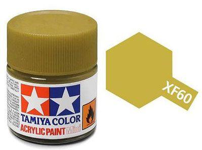 Tinta Acrílica Mini XF-60 Amarelo escuro (10 ml) - Tamiya 81760  - BLIMPS COMÉRCIO ELETRÔNICO