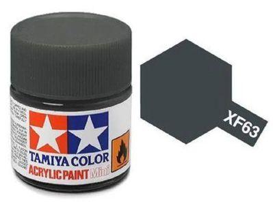 Tinta Acrílica Mini XF-63 Cinza Alemão (10 ml) - Tamiya 81763  - BLIMPS COMÉRCIO ELETRÔNICO