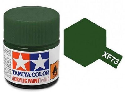 Tinta Acrílica Mini XF-73 Verde Escuro (10 ml) - Tamiya 81773  - BLIMPS COMÉRCIO ELETRÔNICO
