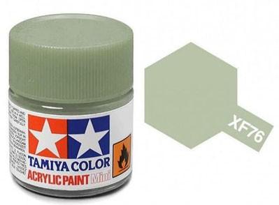 Tinta Acrílica Mini XF-76 Cinza Esverdeado (IJN) (10 ml) - Tamiya 81776  - BLIMPS COMÉRCIO ELETRÔNICO