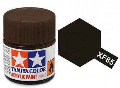 Tinta Acrílica Mini XF-85 Preto Borracha (10 ml) - Tamiya 81785  - BLIMPS COMÉRCIO ELETRÔNICO
