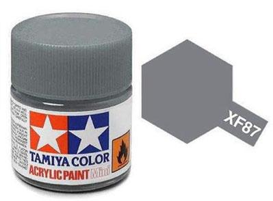 Tinta Acrílica Mini XF-87 Cinza IJN (Maizuru Arsenal) (10 ml) - Tamiya 81787  - BLIMPS COMÉRCIO ELETRÔNICO