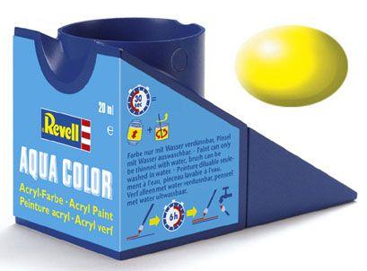 Tinta Acrílica Revell Aqua Color Amarelo Luminoso Sedoso - Revell 36312  - BLIMPS COMÉRCIO ELETRÔNICO