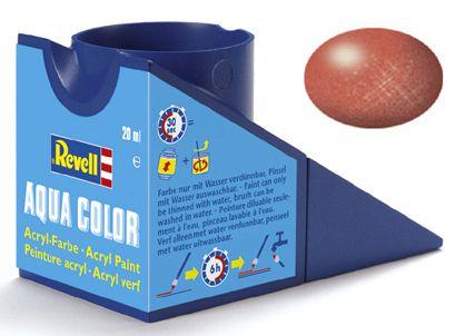 Tinta Acrílica Revell Aqua Color Bronze Metálico - Revell 36195  - BLIMPS COMÉRCIO ELETRÔNICO