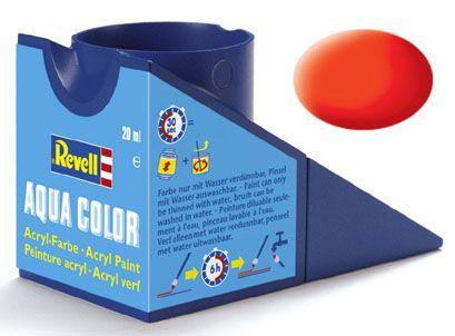 Tinta Acrílica Revell Aqua Color Laranja Luminoso Opaco - Revell 36125  - BLIMPS COMÉRCIO ELETRÔNICO