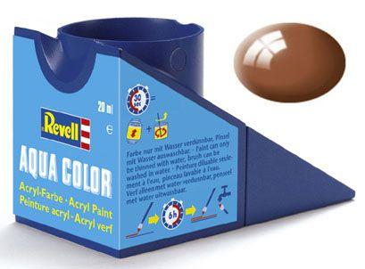 Tinta Acrílica Revell Aqua Color Marrom Lama Brilhante - Revell 36180  - BLIMPS COMÉRCIO ELETRÔNICO