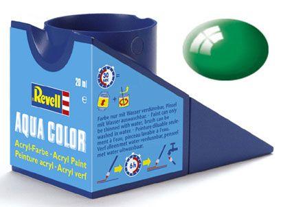 Tinta Acrílica Revell Aqua Color Verde Esmeralda Brilhante - Revell 36161  - BLIMPS COMÉRCIO ELETRÔNICO