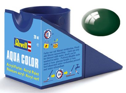 Tinta Acrílica Revell Aqua Color Verde Mar Brilhante - Revell 36162  - BLIMPS COMÉRCIO ELETRÔNICO