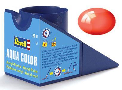 Tinta Acrílica Revell Aqua Color Vermelho Claro - Revell 36731  - BLIMPS COMÉRCIO ELETRÔNICO