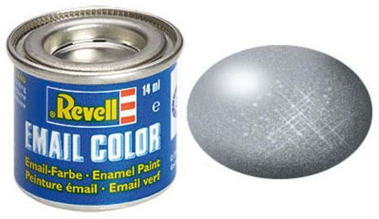 Tinta Sintética Revell Email Color Aço Metálico - Revell 32191  - BLIMPS COMÉRCIO ELETRÔNICO