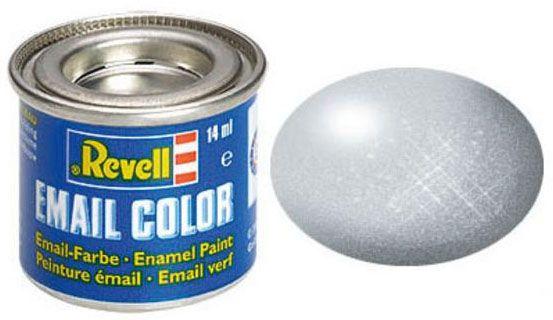 Tinta Sintética Revell Email Color Alumínio Metálico - Revell 32199  - BLIMPS COMÉRCIO ELETRÔNICO