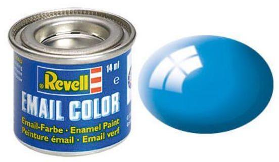 Tinta Sintética Revell Email Color Azul Claro Brilhante - Revell 32150  - BLIMPS COMÉRCIO ELETRÔNICO