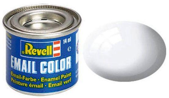Tinta Sintética Revell Email Color Branco Brilhante - Revell 32104  - BLIMPS COMÉRCIO ELETRÔNICO