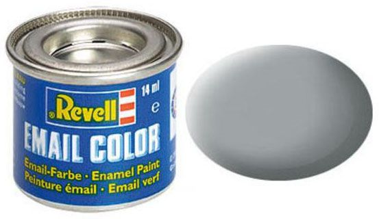 Tinta Sintética Revell Email Color Cinza Claro - Revell 32176  - BLIMPS COMÉRCIO ELETRÔNICO