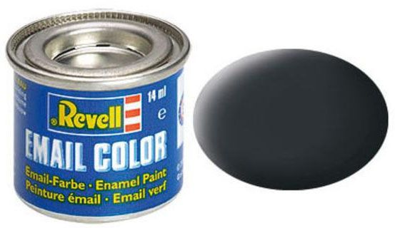 Tinta Sintética Revell Email Color Cinza Escuro (Antracita) - Revell 32109  - BLIMPS COMÉRCIO ELETRÔNICO
