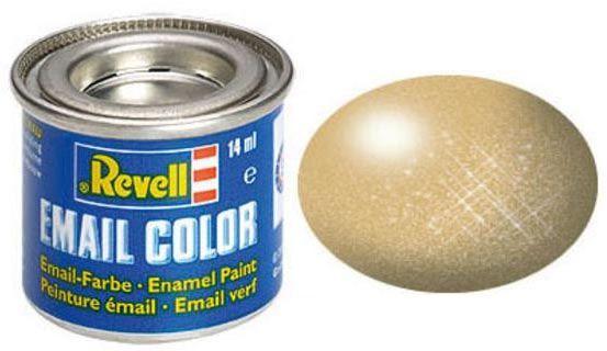 Tinta Sintética Revell Email Color Ouro Metálico - Revell 32194  - BLIMPS COMÉRCIO ELETRÔNICO