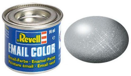 Tinta Sintética Revell Email Color Prata - Revell 32190  - BLIMPS COMÉRCIO ELETRÔNICO