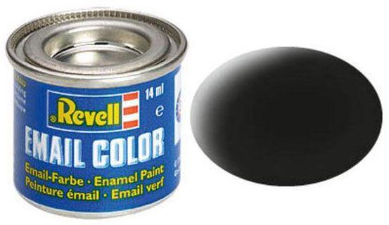 Tinta Sintética Revell Email Color Preto Fosco - Revell 32108  - BLIMPS COMÉRCIO ELETRÔNICO