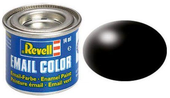 Tinta Sintética Revell Email Color Preto Seda - Revell 32302  - BLIMPS COMÉRCIO ELETRÔNICO