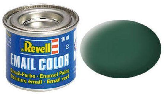Tinta Sintética Revell Email Color Verde Escuro Fosco - Revell 32139  - BLIMPS COMÉRCIO ELETRÔNICO