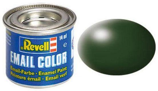 Tinta Sintética Revell Email Color Verde Escuro Seda - Revell 32363  - BLIMPS COMÉRCIO ELETRÔNICO