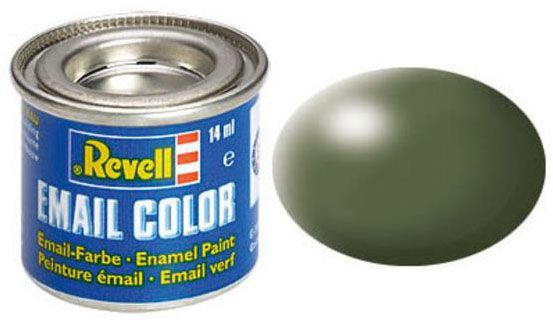 Tinta Sintética Revell Email Color Verde Oliva Seda - Revell 32361  - BLIMPS COMÉRCIO ELETRÔNICO