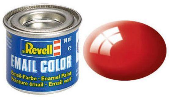 Tinta Sintética Revell Email Color Vermelho Brilhante - Revell 32131  - BLIMPS COMÉRCIO ELETRÔNICO