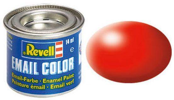 Tinta Sintética Revell Email Color Vermelho Brilhante Seda - Revell 32332  - BLIMPS COMÉRCIO ELETRÔNICO
