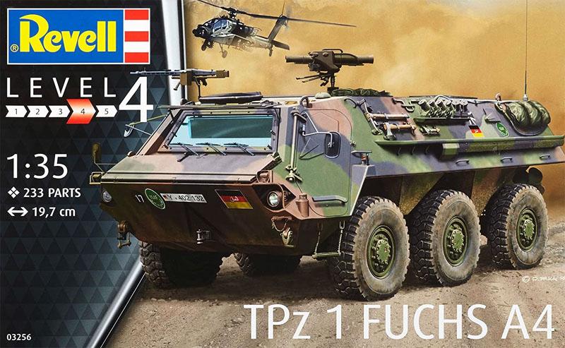 TPz 1 Fuchs A4 - 1/35 - Revell 03256  - BLIMPS COMÉRCIO ELETRÔNICO