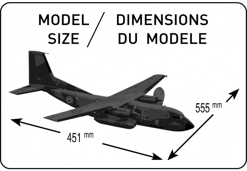 Transall C-160 - 1/72 - Heller 80353  - BLIMPS COMÉRCIO ELETRÔNICO