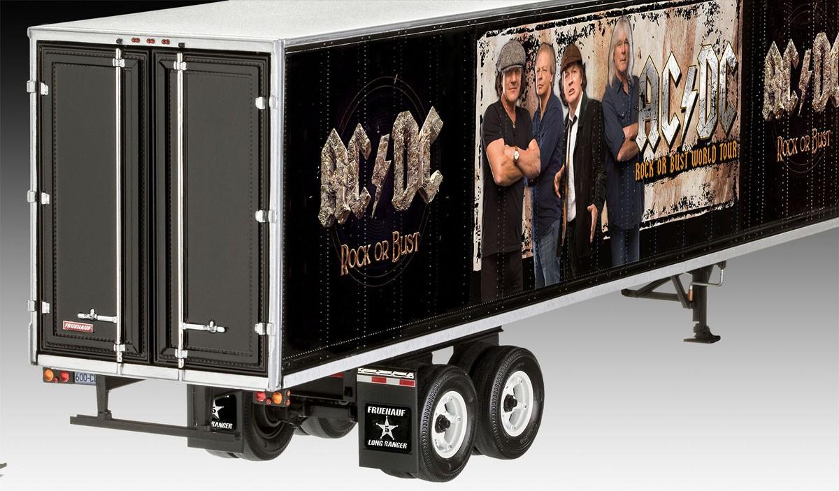 Truck and Trailer AC/DC Limited Edition - 1/32 - Revell 07453  - BLIMPS COMÉRCIO ELETRÔNICO