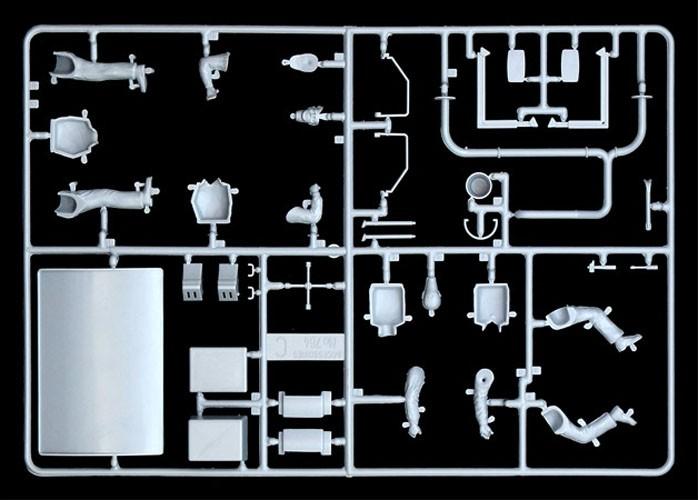 Truck Shop Accessories - 1/24 - Italeri 764  - BLIMPS COMÉRCIO ELETRÔNICO