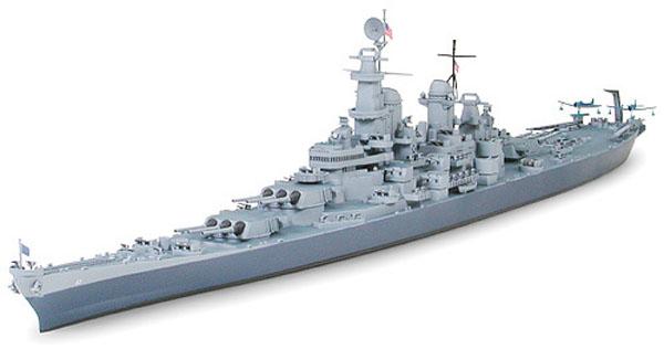 U.S. Navy Battleship BB-63 Missouri - 1/700 - Tamiya 31613  - BLIMPS COMÉRCIO ELETRÔNICO