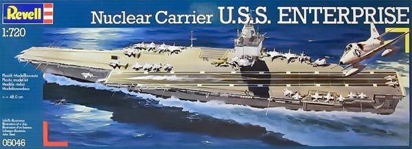 U.S.S. Enterprise - 1/720 - Revell 05046  - BLIMPS COMÉRCIO ELETRÔNICO