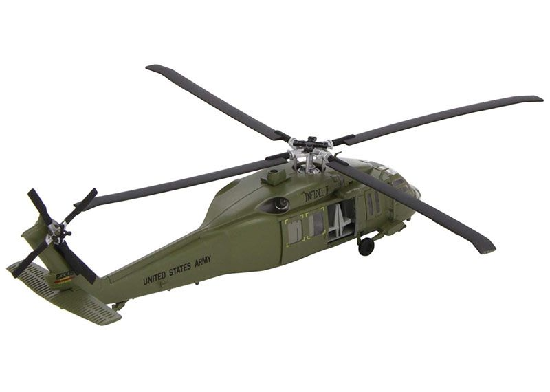 UH-60A Black Hawk - 1/72 - Easy Model 37017  - BLIMPS COMÉRCIO ELETRÔNICO