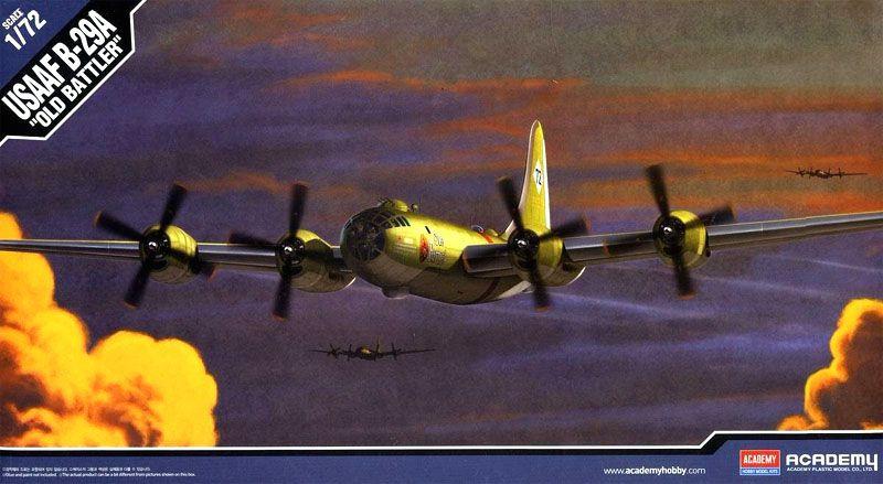 USAAF B-29A Old Battler - 1/72 - Academy 12517  - BLIMPS COMÉRCIO ELETRÔNICO