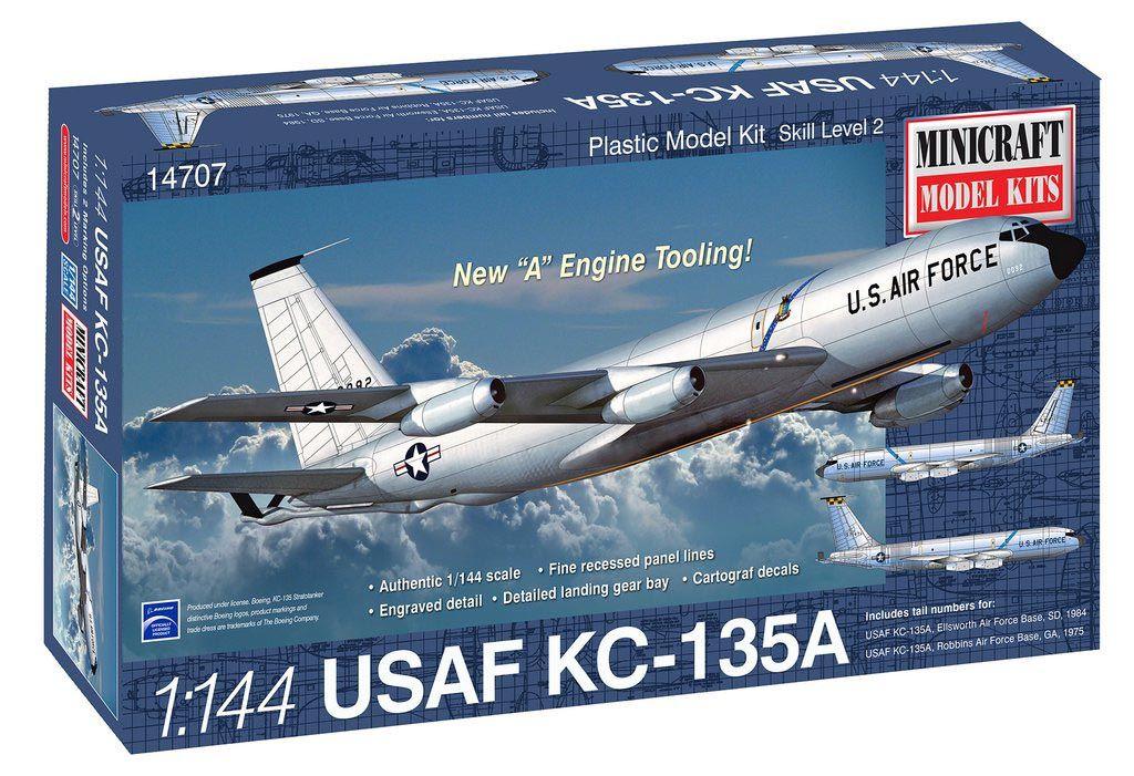 USAF Boeing KC-135A Stratotanker - 1/144 - Minicraft 14707  - BLIMPS COMÉRCIO ELETRÔNICO