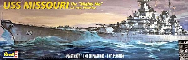 USS Missouri - 1/535 - Revell 85-0301  - BLIMPS COMÉRCIO ELETRÔNICO