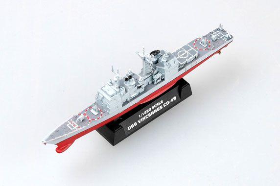 USS Vincennes (CG-49) - 1/1250 - Easy Model 37402  - BLIMPS COMÉRCIO ELETRÔNICO