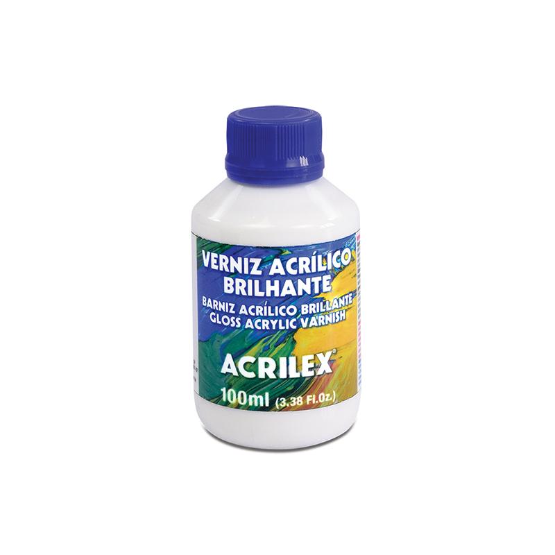 Verniz Acrílico Brilhante (100 ml) - Acrilex 15010  - BLIMPS COMÉRCIO ELETRÔNICO