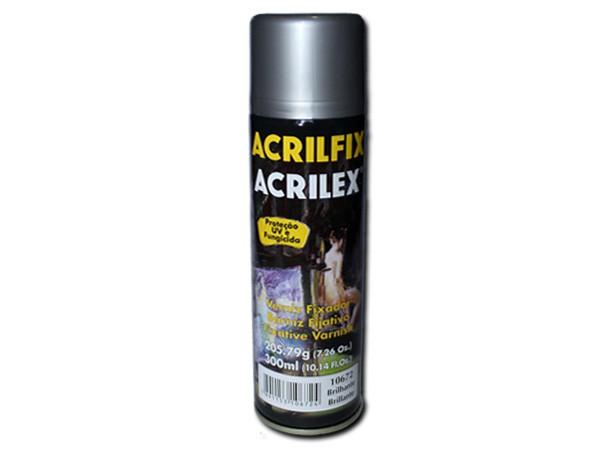 Verniz Spray Brilhante Acrilfix (300 ml) - Acrilex 10672  - BLIMPS COMÉRCIO ELETRÔNICO