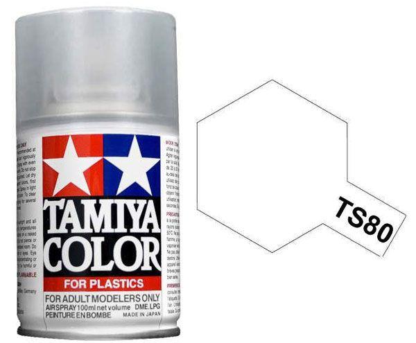 Verniz spray transparente fosco - TS-80 - Tamiya 85080  - BLIMPS COMÉRCIO ELETRÔNICO
