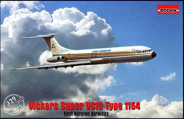 Vickers Super VC10 Type 1154 - 1/144 - Roden 329  - BLIMPS COMÉRCIO ELETRÔNICO
