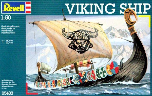 Viking Ship - 1/50 - Revell 05403  - BLIMPS COMÉRCIO ELETRÔNICO