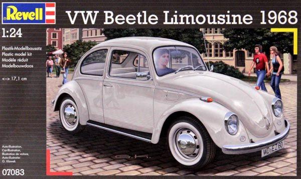Volkswagen Fusca Beetle Limousine 1968 - 1/24 - Revell 07083  - BLIMPS COMÉRCIO ELETRÔNICO