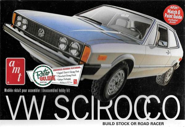 Volkswagen Scirocco 1978 - 1/25 - AMT 925  - BLIMPS COMÉRCIO ELETRÔNICO